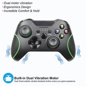 Image 2 - 2.4G وحدة تحكم لاسلكية غمبد ل Xbox One وحدة التحكم ل PC win 7/8/10 ل PS3 وحدة التحكم ل أندرويد/الهاتف/التلفزيون المقود