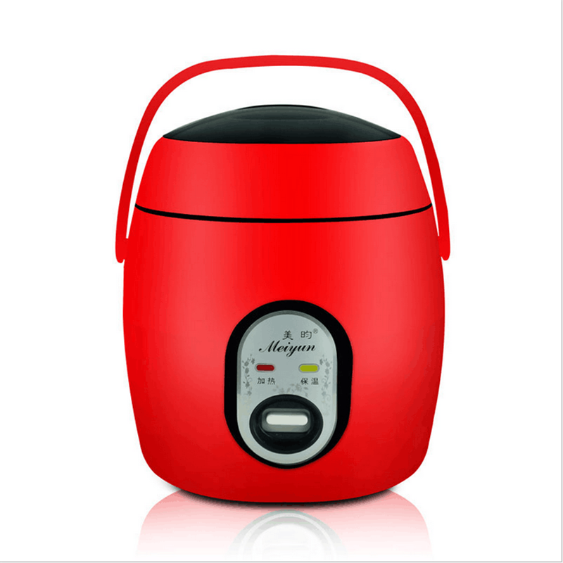 1.2L Lunch Box Electric Mini Rice Cooker Non-Stick Multi-function Electric Rice Cooker  Heat Preservation Kitchen Dinnerware multivarka midea brand kitchen cooker with 24 hours preset 3 8mm inner pot and non stick auto keep warm precision steam cooker