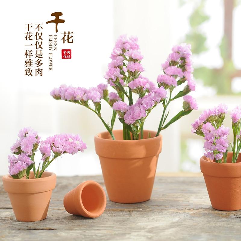 2019 Իրական Ծաղկեփնջերի ծաղկեփնջեր Թեժ վաճառք! Կարմիր զամբյուղ Միջազգային ավազանի չորս չափսի մինի բույսեր .ceramic Flower Pot.terra-cotta.