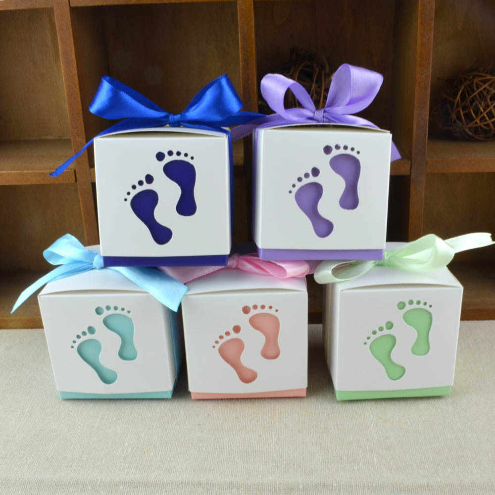 4 pcs Baby event favor idea for first birthday shower gender reveal pregnancy congrats gift box for guests Christmas stocking fillers