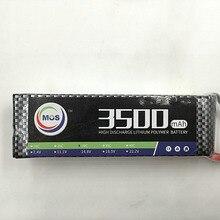 MOS 2 S batería 7.4 v 3500 mAh 30C lipo Para El helicóptero del rc rc coche barco del rc quadcopter batería de Li-polímero battey