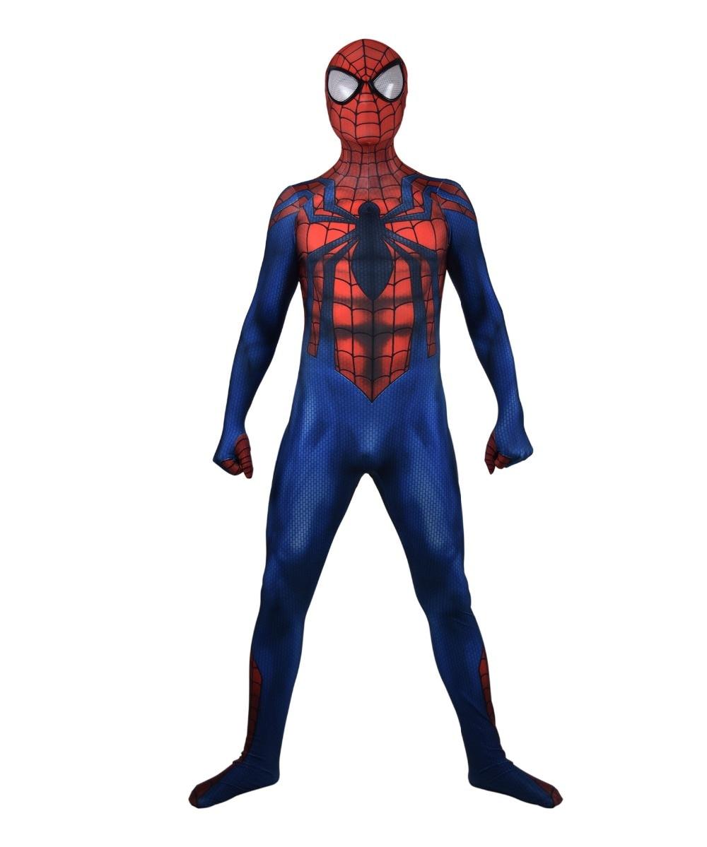 Ben Reilly Spider-Man Cosplay Costume Lycra Spiderman Zentai Bodysuit Halloween Party Suit