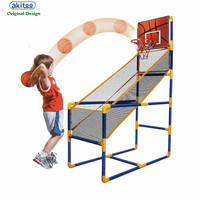 akitoo 1411 New with pump Children's large basketball hoop inflatable indoor shooting game outdoor sports early education toys