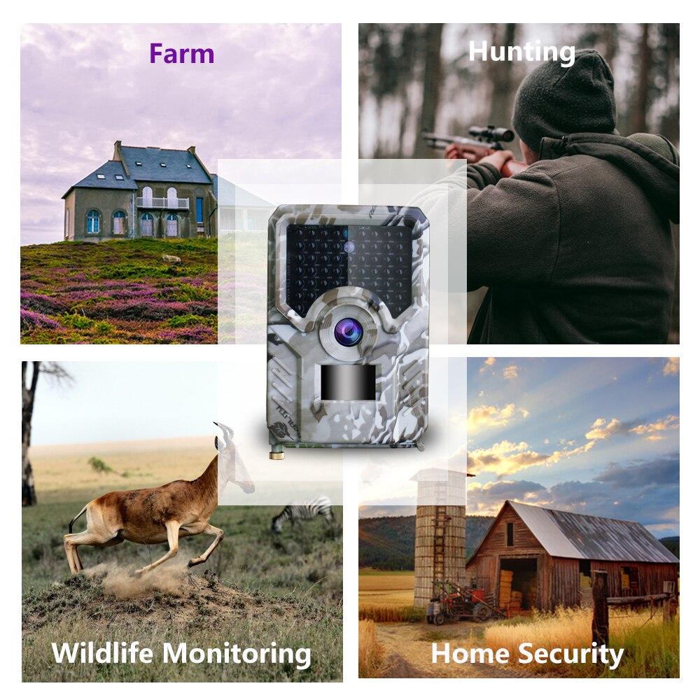 PR-200 jeu de caméra de chasseVision nocturne extérieurePièges photographiques gsmSauvage thermiqueScoutismeMms sms suntekcam livraison gratuite - 4
