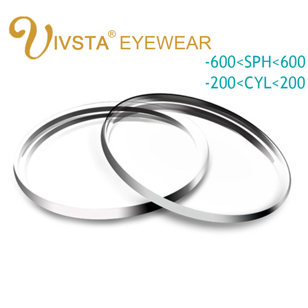 f92d1471f0 IVSTA 1.56 1.61 1.67 Aspherical Customized Lenses anti blue rays radiation  scratch Glasses Men Women Prescription Hyperopia 1.74