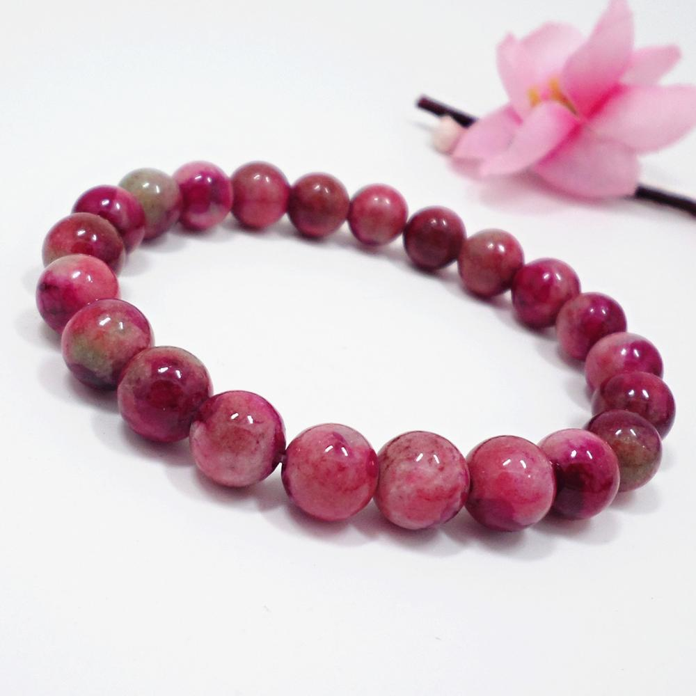 Natural Wangfu Stone Bracelet Crown Pendant Natural Crystal Bracelet Jewelry in Strand Bracelets from Jewelry Accessories