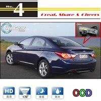Hyundai i25/i35/i45 Auto Kamera Für Hochwertige Rückspiegel Wieder Wasserdicht Kamera Für PAL/NTSC Verwenden | CCD + RCA stecker-in Fahrzeugkamera aus Kraftfahrzeuge und Motorräder bei