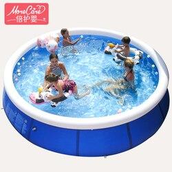 Piscina inflavel adulto große familie kinder schwimmen pool wasser aufblasbare erhöhen verdickung große netto schwimmen pools