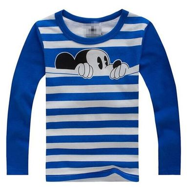 Boys T Shirt Girl Tshirt Children Clothes Toddler T-Shirt Kid Long Sleeve Tops Toddler T shirts Baby Tee Kids Christmas Shirt(China)