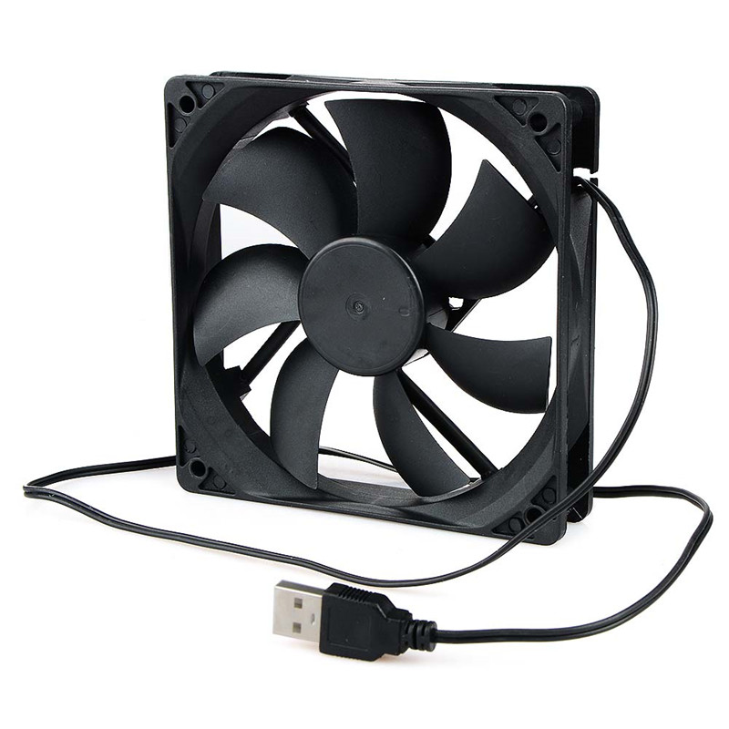 Portable Computer 120x120mm fan Cooler 12V 12CM 120MM PC CPU Cooling Cooler Fan for video card Drop shipping image