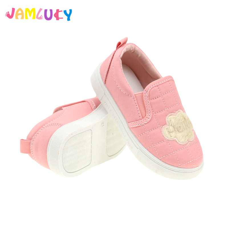 Girls Shoes Children Sneakers Boys Fashion Brand Soft Kids Shoes Casual Schoenen Canvas Shoes Cotton Cute Cartoon Tenis Infantil