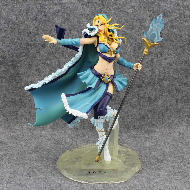 Free Shipping 8 Game DOTA 2 Crystal Maiden Boxed 20cm PVC Action Figure Collection Model Doll Toys Gift free shipping 12 ow game soldier 76 the 2nd ver boxed 31cm pvc action figure collection model doll toy gift