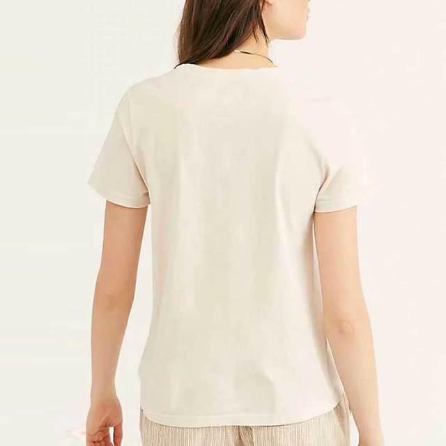 Boho Inspired Golden Vintage T-Shirt