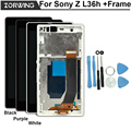 100% No Dead Pixel Warranty Display Screen For Sony Xperia Z LCD C6603 C6602 L36h L36 With Touch Screen Digitizer + Frame