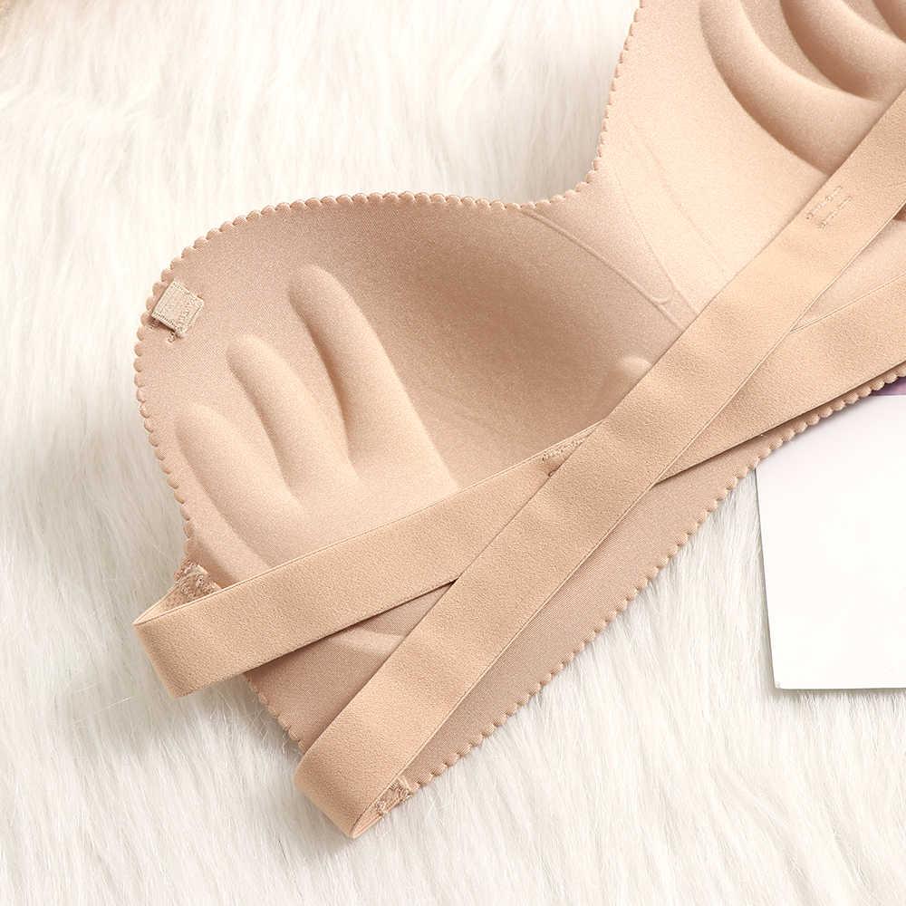 Sutiã De Silicone Moda Venda quente envoltório peito assentamento Confortável Underwear Mulheres strapless Ladies Cozy Ajustável Sutiãs Invisíveis