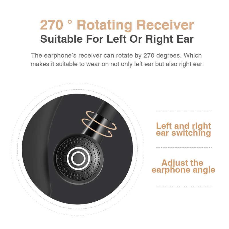 Auricular Bluetooth SANLEPUS auriculares inalámbricos auriculares manos libres auricular con micrófono HD para teléfono iPhone Samsung xiaomi