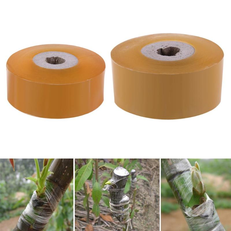 Parafilm Grafting Tape Stretchable Garden Adhesive Tapes Fruit Tree Roll Grafting Tape Gardening Nursery Tape Grafting Tool 100m
