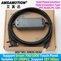 Adecuado Siemens S7-200 PLC Cable de Programación Industrial grado PPI Cable de comunicación compatible con SMART 700/1000 HMI Panel táctil