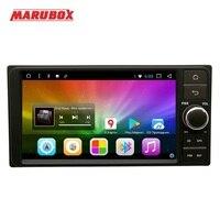Marubox 7A701DT8, Универсальная магнитола для Toyota на Android 7.1,восьмиядерный процессор Allwinner T8,оперативная память 2 Гб, встроенная память 32Гб, 71024 * 600 HD,