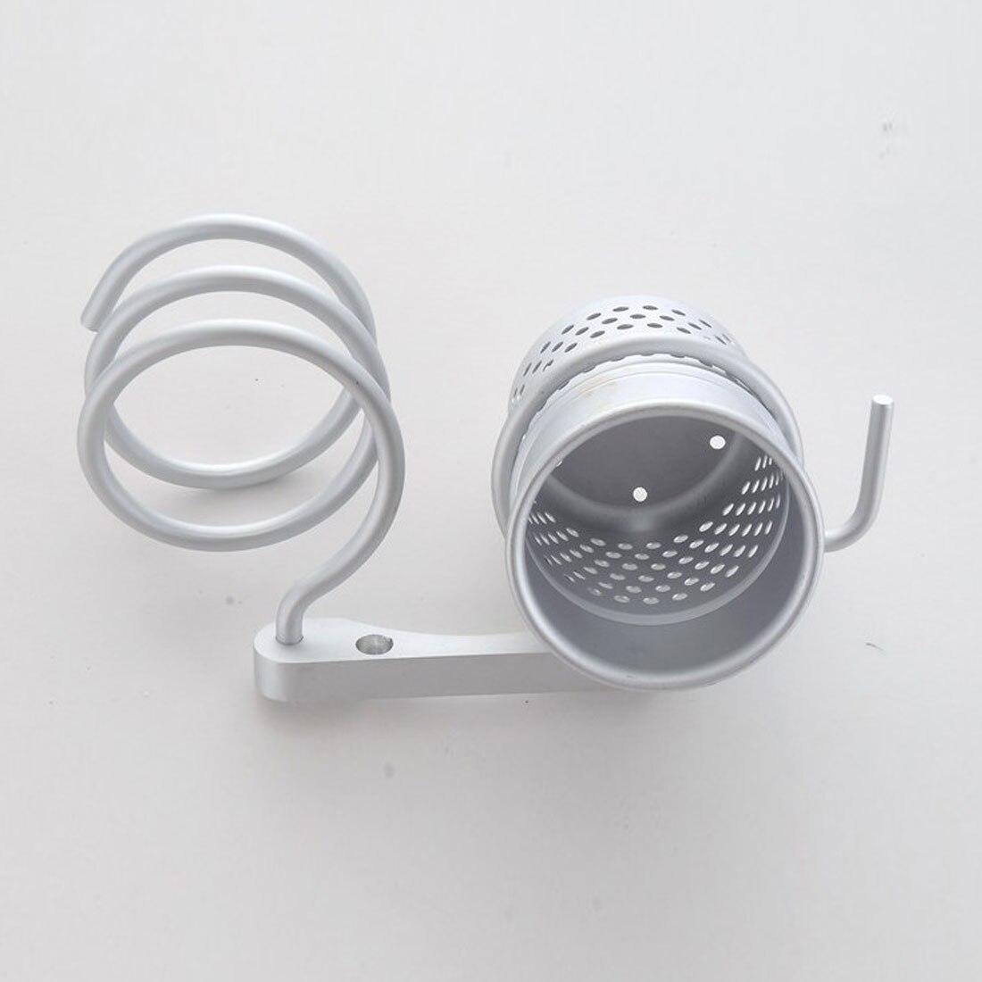 Badezimmer Regale Innovative Wand Haar Trockner Metall Bad Regal Lagerung Haartrockner Halter Für Haartrockner