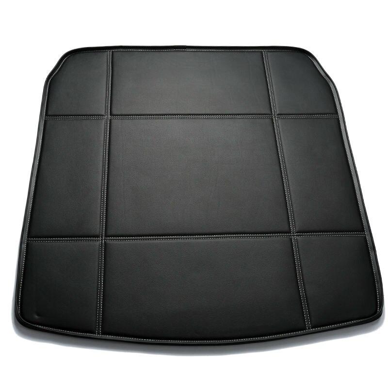Custom fit Car Trunk mat for Nissan altima Murano Sentra Sylphy versa sunny Tiida Note LIVINA patrol pathfinder Mats carpet fit car custom trunk mats cargo liner for nissan livina sylphy teana qashqai car styling 5d carpet rugs