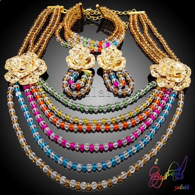 Free Shipping Wholesale Fashion Women Jewelry Set Beads Necklace and Bracelet Nice and High quality Jewelry dhl ems san yo servo motor q1aa04010dxs1s good in condition for industry use a1
