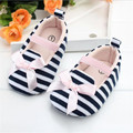newborn baby girl shoes faShion striped bowknot princess infant soft sole shoes suitable 0-18 M baby shoes