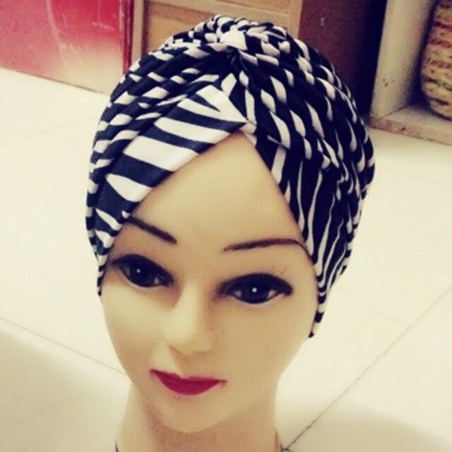 Heißer Indian Style Stretch Turban Chemo Headwrap Frauen Männer ...