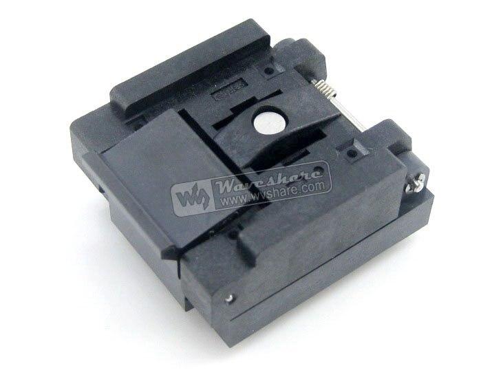 QFN28 MLP28 MLF28 QFN-28(36)BT-0.5-02 QFN Enplas IC Test Burn-in Socket Programming Adapter 0.5mm Pitch gp qfn28 0 5 b qfn28 mlf28 enplas ic test socket programming adapter 0 5mm pitch qfn 28 36 bt 0 5 02