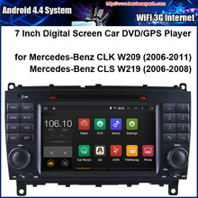 Android Car DVD Player for Mercedes-Benz CLK CLS with Raido GPS Navigation