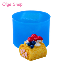 Cake Silicone Miniature-Food Making-Cabochon Mold Clay Fruits Sugarcraft Candy 3D GYL325