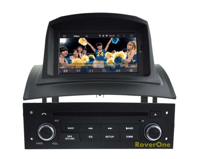 Dla Renault Megane 2 Ii Fluence Android 51 Radio Samochodowe Stereo
