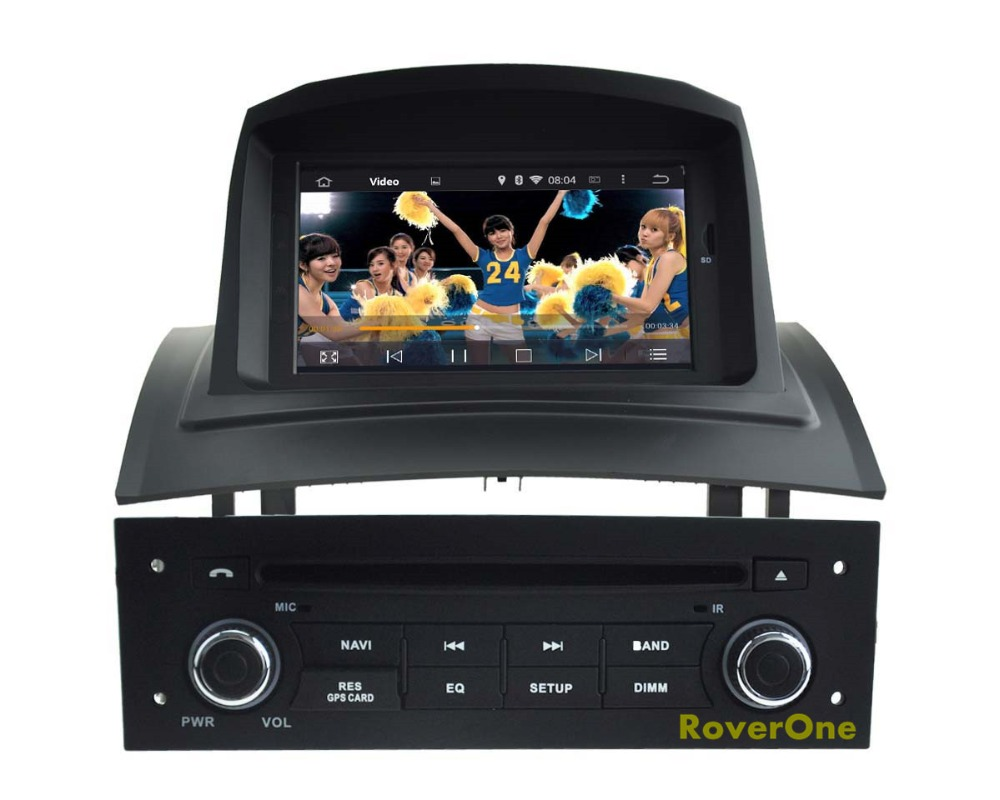 for renault megane 2 ii fluence android 5 1 autoradio car radio stereo dvd gps navigation media. Black Bedroom Furniture Sets. Home Design Ideas