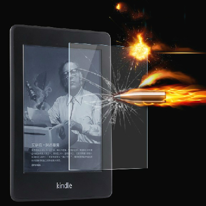 9H Tempered Glass Screen Protector for Amazon Kindle 8 8th Gen Generation Version 2016 Fundas + Alcohol Cloth + Dust Stickers