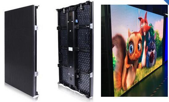TEEHO NEW P3.91 SMD outdoor 500*1000mm LED Display DieCasting Cabinet panel led video rental advertising wedding hotel stadium