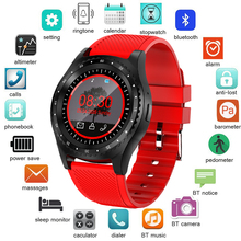 цена LIGE Smart watch men Women Sport watch Color LED Touch Screen Reminder watch Support SIM TF card For Android IOS Reloj hombre онлайн в 2017 году