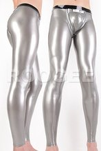 hot sales rubber latex leggings