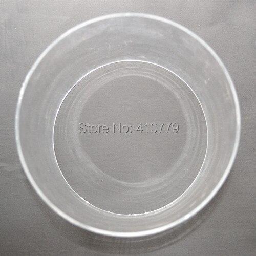 Акрил большой кастинг Ясно Tube od200x10x1000mm Пластик ПММА водопровод пользовательские промышленности и Бизнес украшения имеют множество Размер