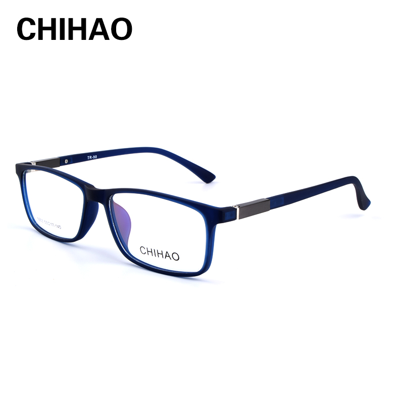 CHIHAO High Quality Glasses Men Retro Vintage Anti Blue Ray Prescription Glasses multi-focal  Optical Spectacle Frame Round 5503