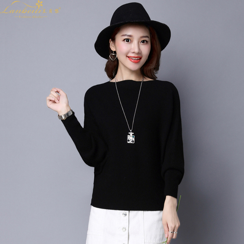 Pure Color Womans Sweater Knitted Korean Style Women Pullover Casual Ladies Thin Sweaters Womens Tops And Blouses Clothing 5