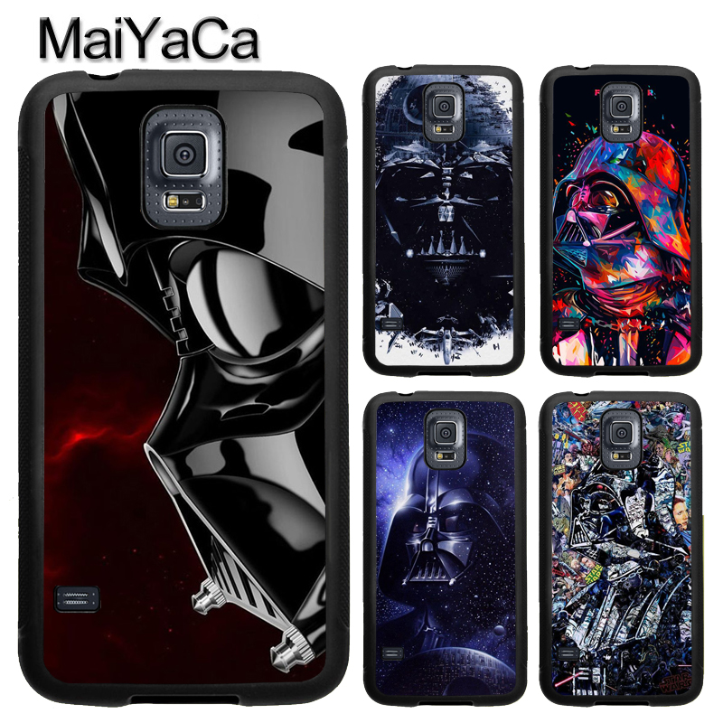 MaiYaCa Star Wars Darth Vader TPU Phone Case For Samsung Galaxy S9 S8 Plus S4 S5 S6 S7 Edge Note 4 5 Note 8 Cover Back Case
