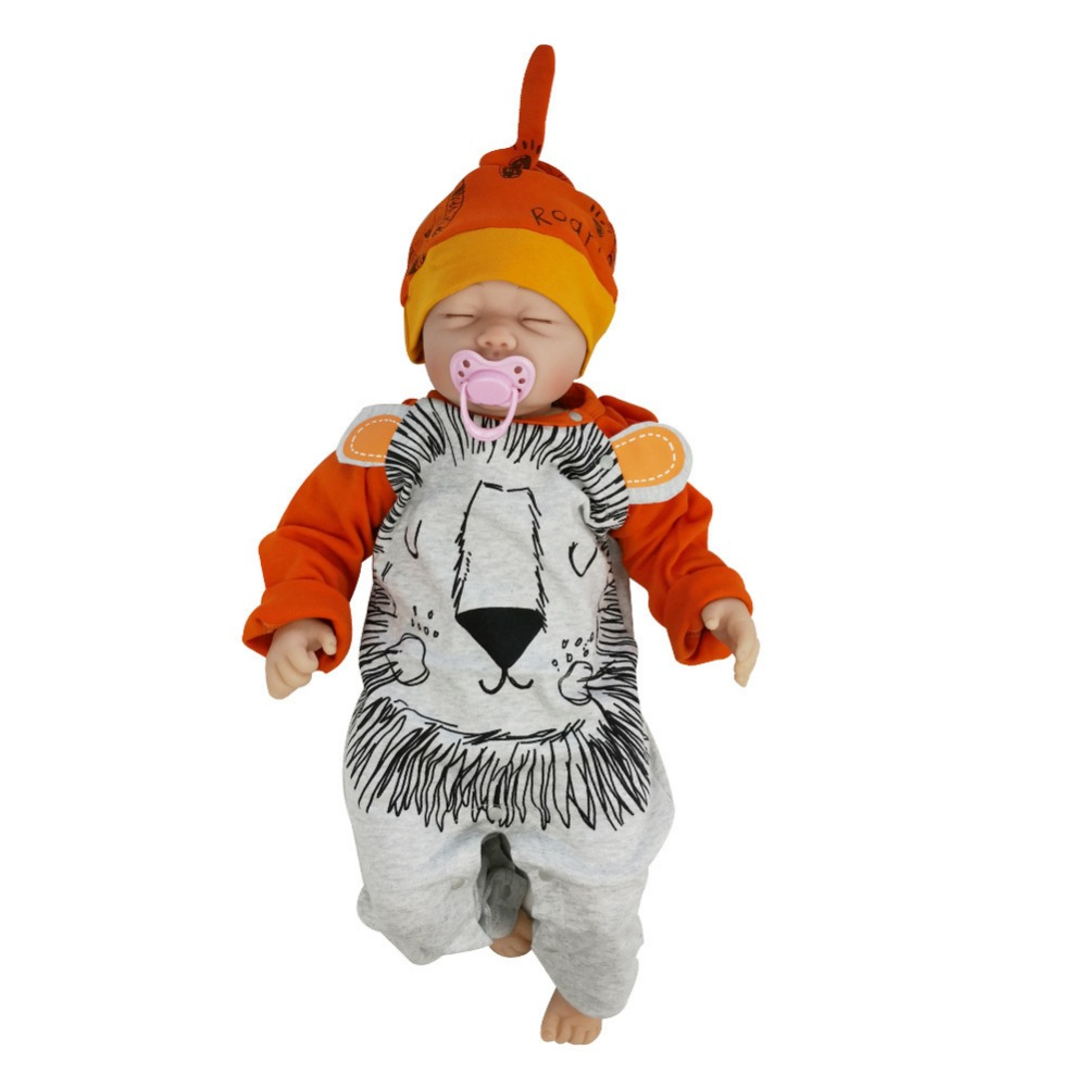 New Arrival Baby Rompers Cotton Soft Newborn short sleeve summer jumpsuit Lovely cartoon tiger baby outfit clothes Jumpsuit