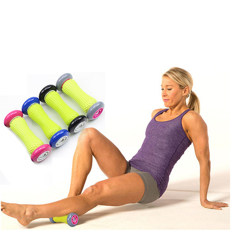 Muscle Massage Roller High Density Floating Point Fitness Gym Exercises Yoga Roller for Physio Massage Pilates Tight Muscles