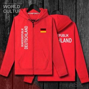 Image 4 - ドイツドイツドイツデメンズトレーナーパーカー冬ジッパーカーディガンユニフォームコート男性ジャケット国家服トラックスーツ