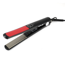 Wholesale prices L173 Professional Electronic Hair Straightener Irons Adjustable Temperature Portable Ceramic Flat Straightening Styling Tools
