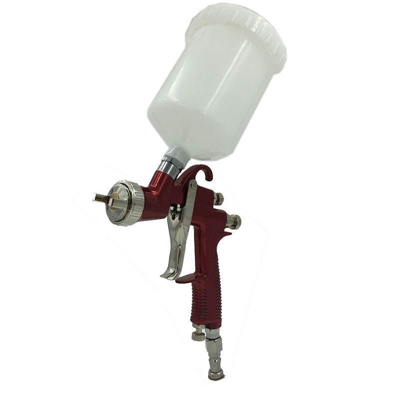 цена на SAT0090 High Quality Air Spray Gun HVLP Pneumatic Spray Gun Gravity Feed Airbrush Spray Gun