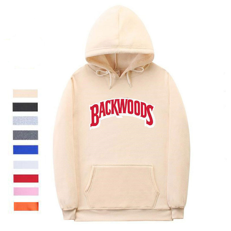 The screw thread cuff Backwoods Hoodie 3