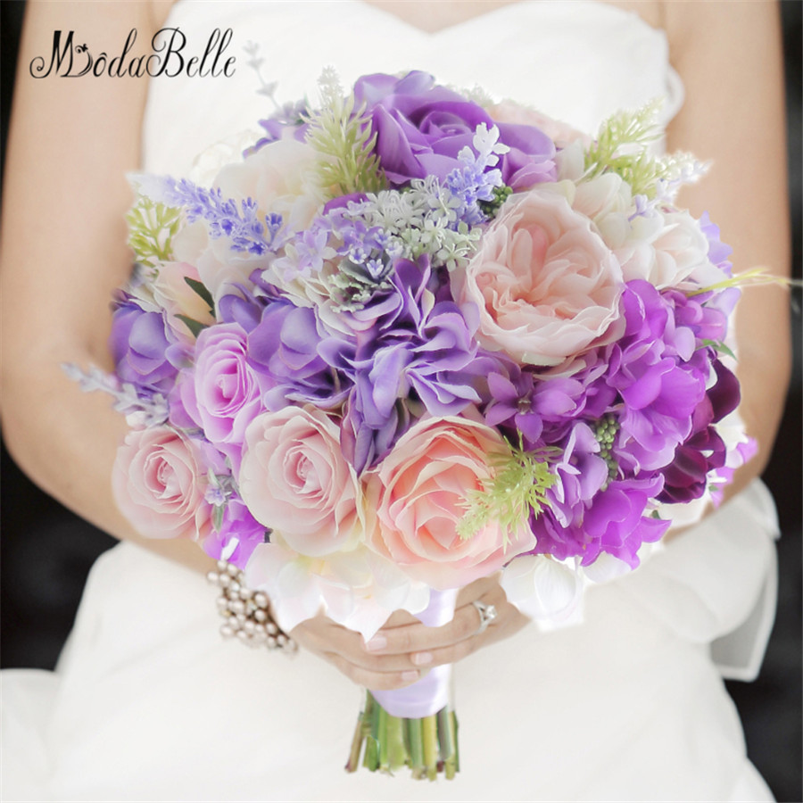 flower bouquet wedding aliexpress buy modabelle artificial bridal bouquet 4139