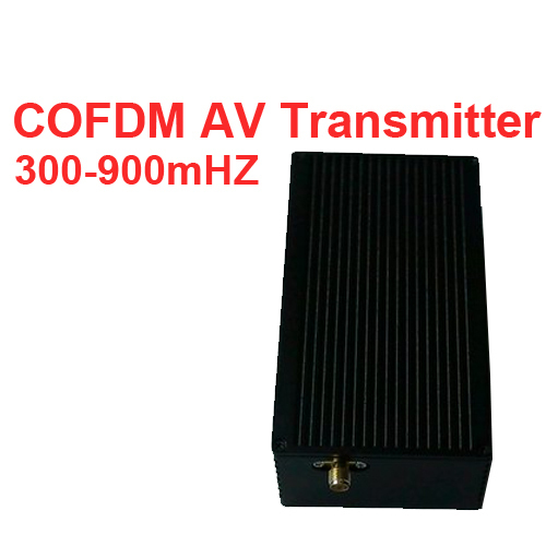 NLOS Transmitter Video COFDM Av Transceiver Portable Image Transmission 300 900mhz For Drone