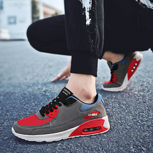 Rommedal air-cushion sneakers men air mesh flying casual shoes big size 39-47 sport leisure running shock 2019 hot sale